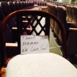 An Empty Chair Tribute