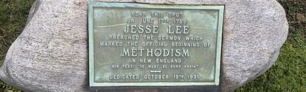 Jesse Lee Historical Marker in Connecticut