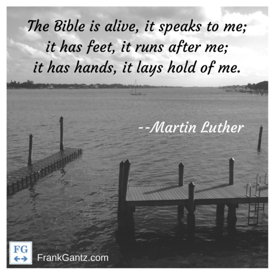 Martin Luther Quote Card