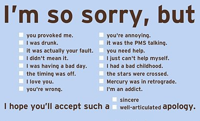 Apology-Sorry