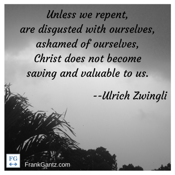 Zwingli on Repentance