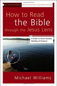 image of how to read the bible through the Jesus lens