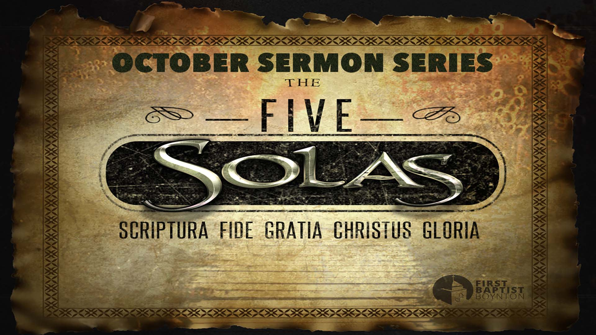 image for sola scriptura