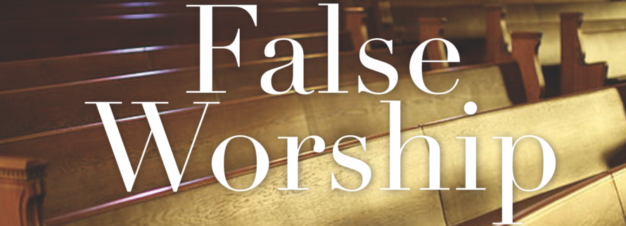 image for false worship